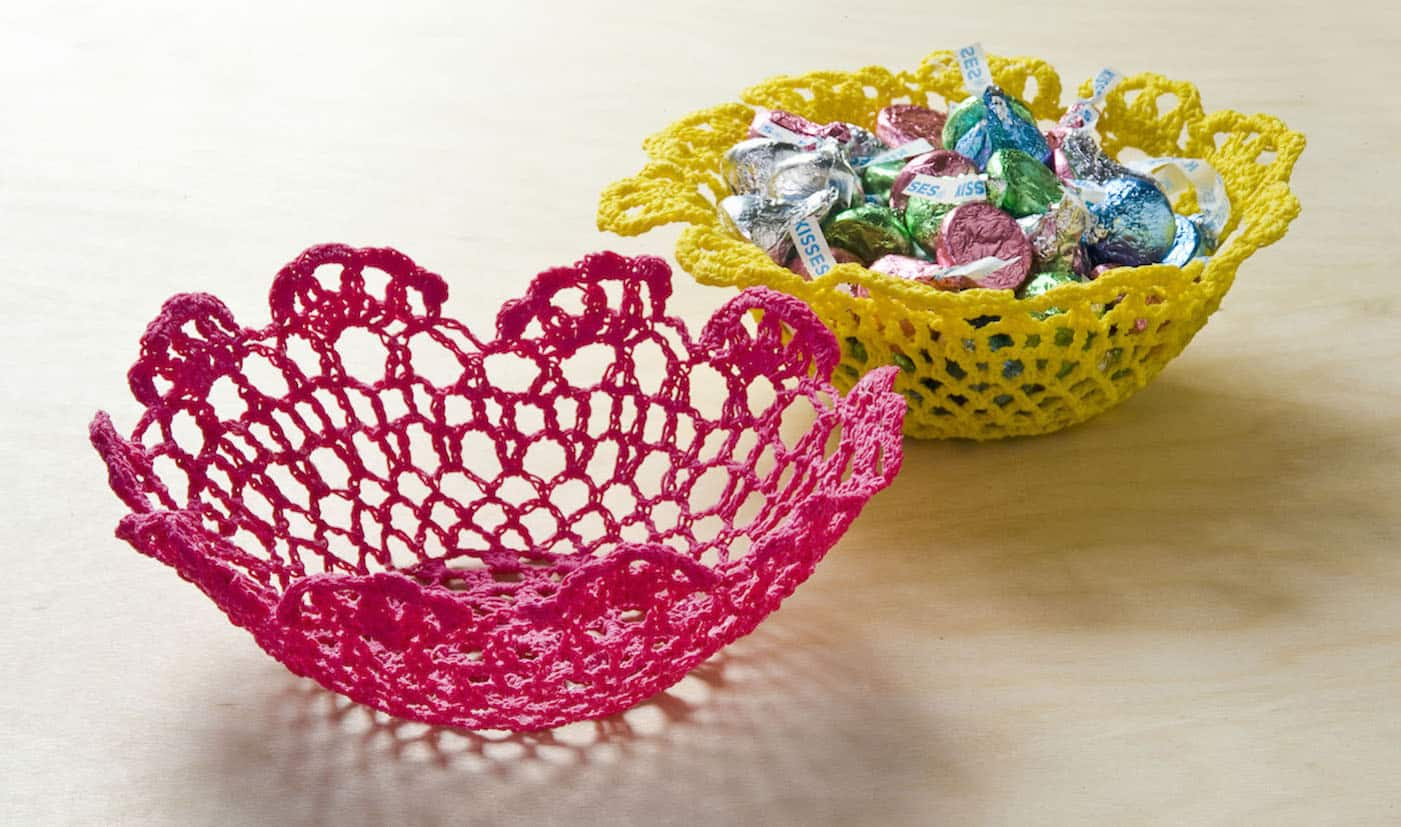 3 Pretty Designs of Craft Paper Doilies Make A Doily Bowl With Mod Podge Stiffy Mod Podge Rocks