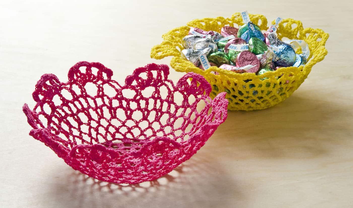 3 Pretty Designs of Craft Paper Doilies Make A Doily Bowl With Mod Podge Stiffy Mod Podge Rocks