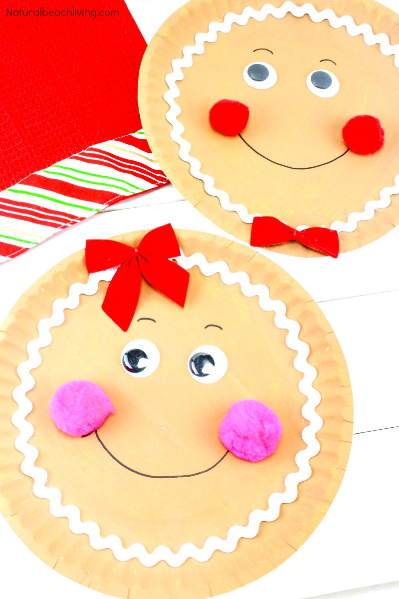 3 Unique Designs of Paper Plate Santa Craft 30 Christmas Crafts For Kids Natural Beach Living