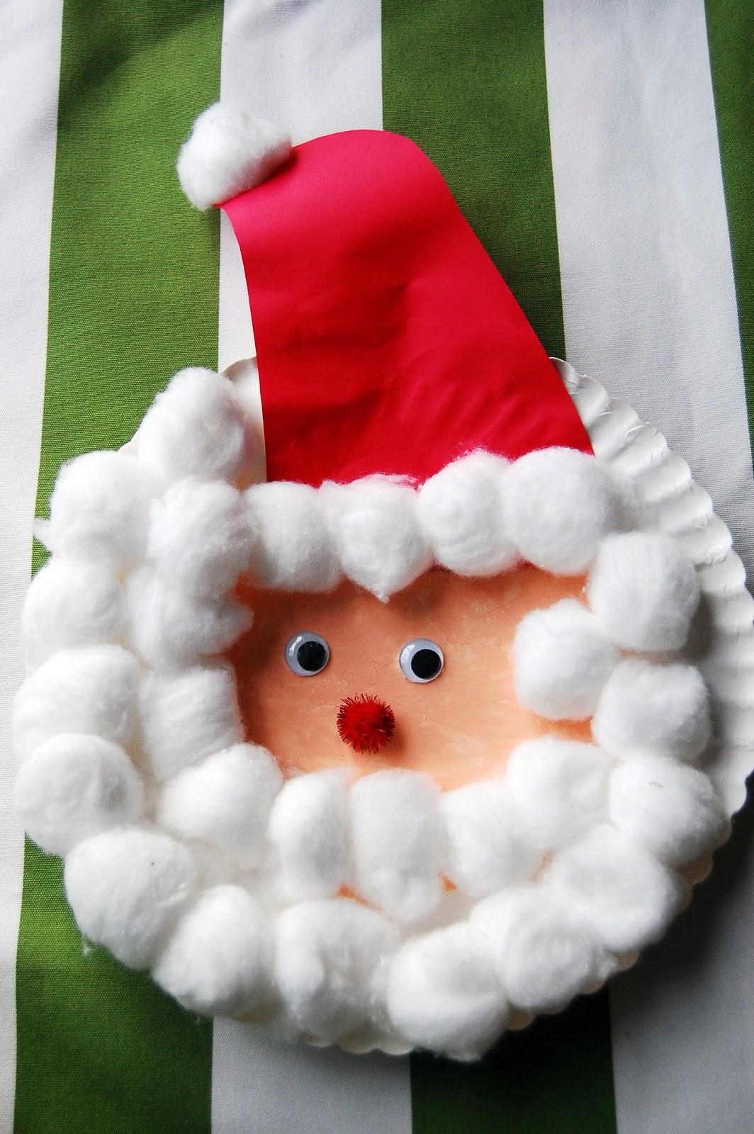 3 Unique Designs of Paper Plate Santa Craft 50 Adorable Christmas Crafts For Kids To Make Listinspired