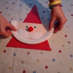 3 Unique Designs Of Paper Plate Santa Craft Santa Claus Paper Plate Series Youtube