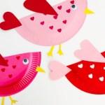 3 Unique Designs Of Paper Plate Santa Craft Valentines Craft For Kids Little Love Birds Kids Crafts Mas Pas
