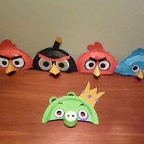 Angry Bird Paper Plate Craft Angry Birds Made Out Of Paper Plates And Colored Paper Add A Tee