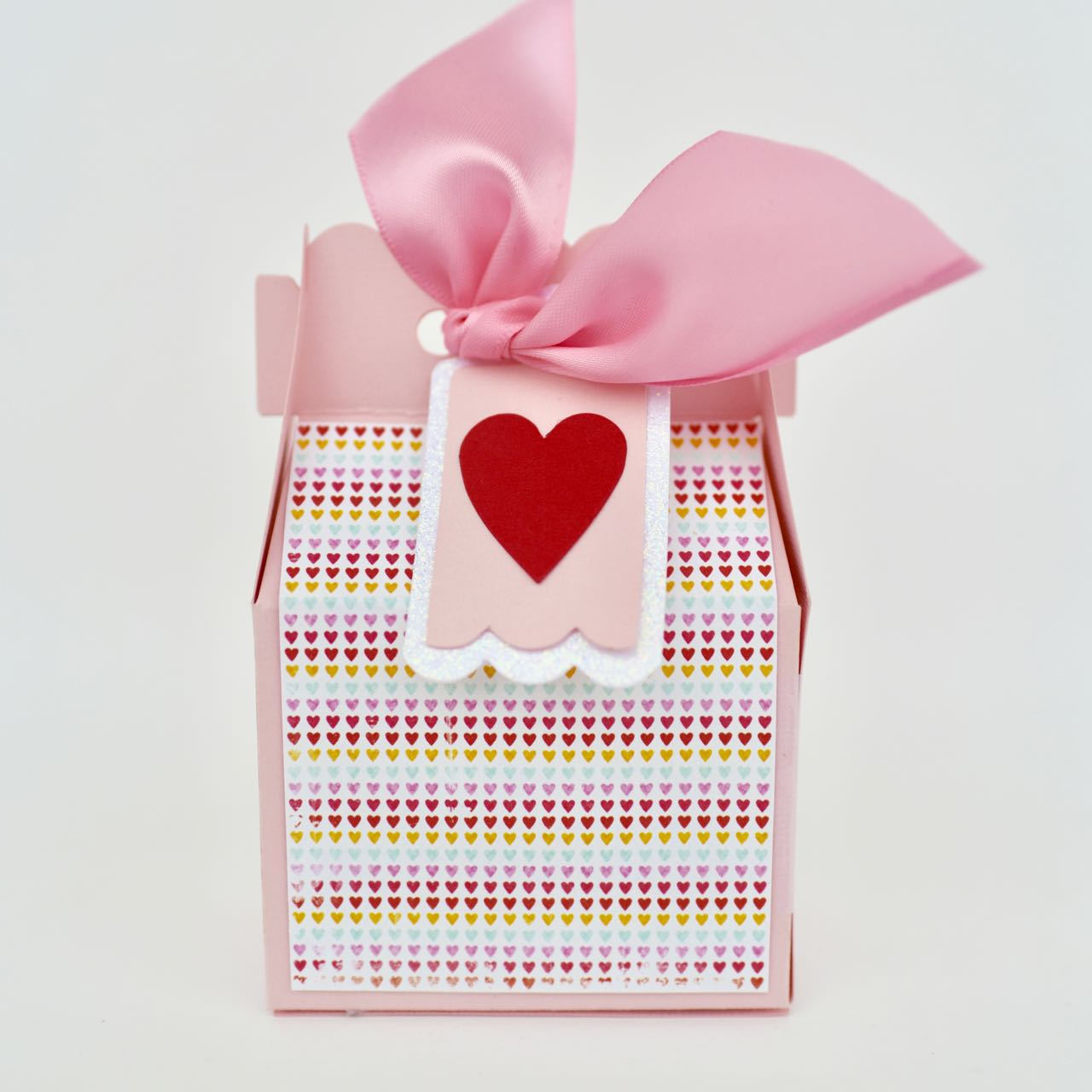 Awesome valentine construction paper crafts Valentine Candy Box Craft Make Life Lovely