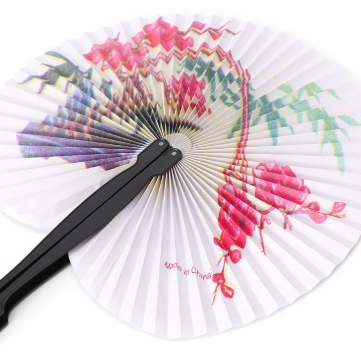 30 Marvelous Image of Chinese Paper Fan Craft