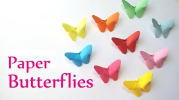 Cool Crafts To Make With Paper Diy Crafts Paper Butterflies Very Easy Innova Crafts Youtube