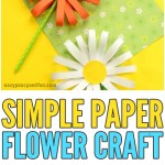 Craft Flower Paper Paper Flower Craft Easy Peasy And Fun