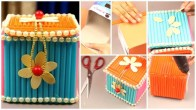 Craft From Waste Material Paper How To Make Jewellery Box At Home With Waste Material Simple Craft