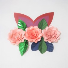 Craft Paper Flowers Roses 2019 Diy Giant Paper Flowers Craft Artificial Rose Fleurs