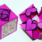 Crafts With Paper For Adults Diy Paper Crafts Idea Gift Box Sealed With Hearts A Smart Way To