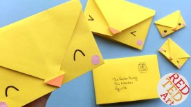 Crafts With Paper For Kids Origami Envelope Chick Paper Crafts For Kids Red Ted Arts Blog