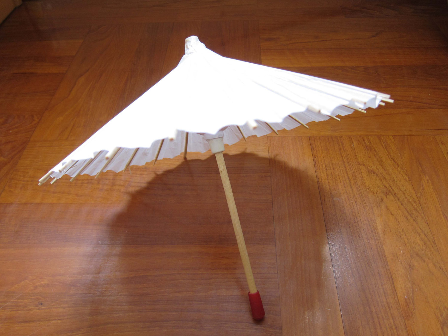 Create paper umbrella craft for party glass decor Diy White Paper Umbrella Kids Party Gifts Kids Craft Etsy