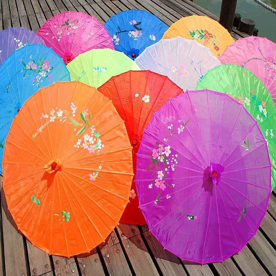 Create paper umbrella craft for party glass decor Supply Silk Umbrella Dance Umbrella Craft Umbrella Large Stage Props