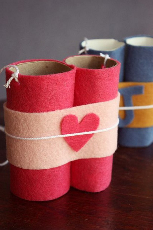 Creative crafts with toilet paper roll Valentines Day Crafts For Kids 17 Easy Toilet Paper Roll Ideas