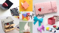 Diy Crafts With Paper 10 Lovely Paper Crafts Diy Craft Ideas Art All The Way Youtube