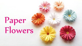 Diy Crafts With Paper Craft Paper Flowers Making Find Craft Ideas