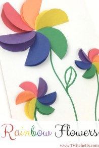 Diy Crafts With Paper How To Make Easy Rainbow Paper Flowers For Kids Rainbow Crafts And