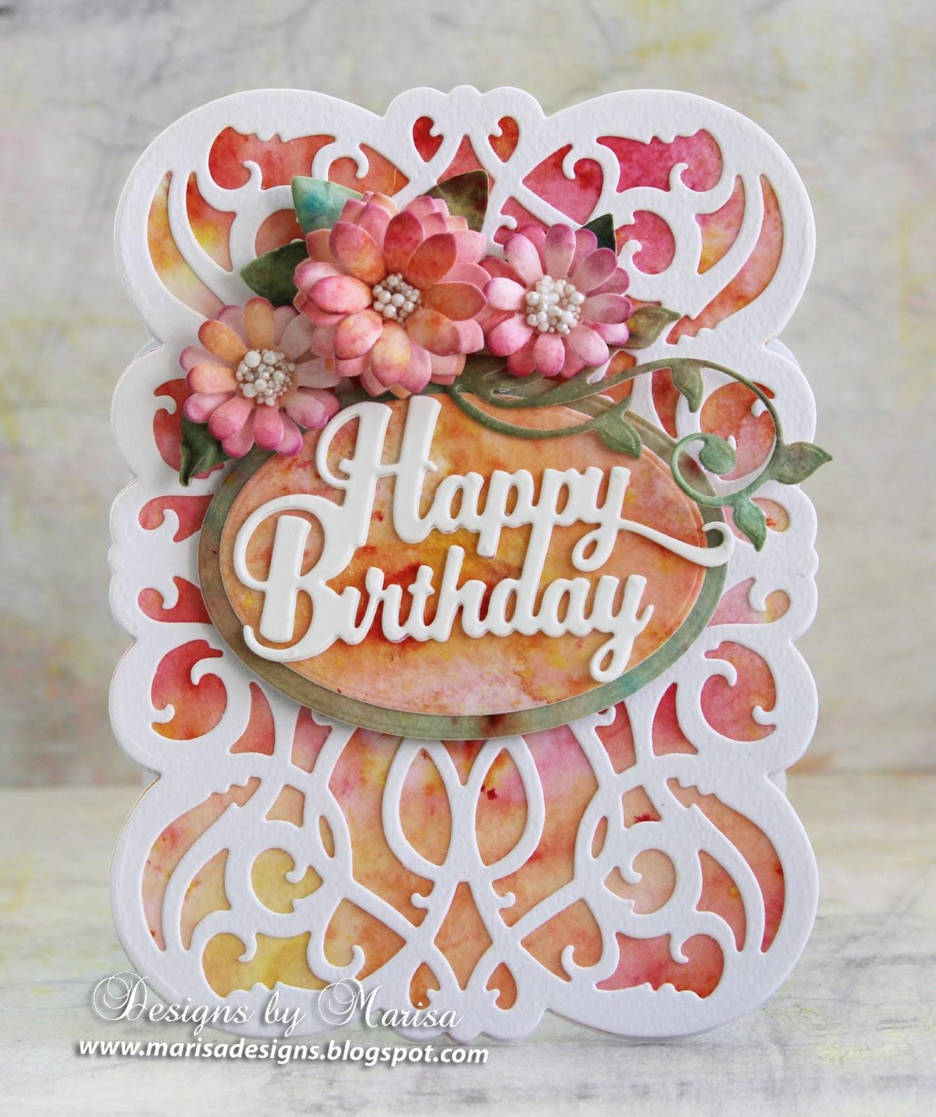 DIY Tassel Garland Paper Craft Birthday Party Designs Marisa Justrite Papercraft Happy Birthday Card