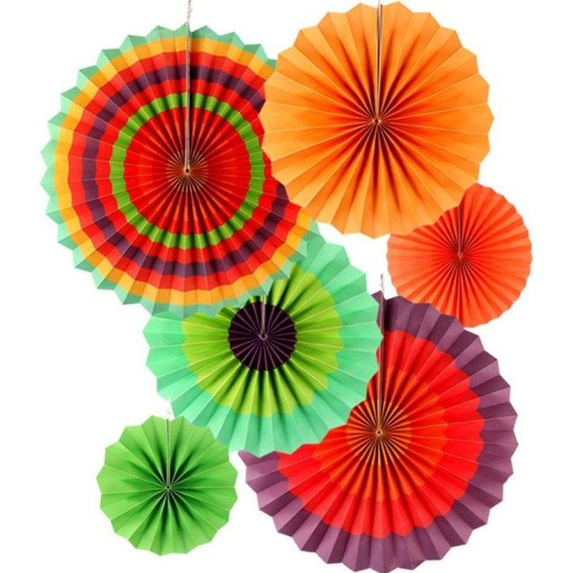 DIY Tassel Garland Paper Craft Birthday Party Senarai Harga 6pcs Set Decorative Wedding Party Paper Craft 8039039