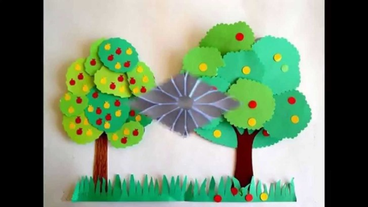 30 Marvelous Photo of Easy Construction Paper Crafts Kids