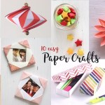 Easy Paper Craft Ideas For Kids 10 Easy Paper Crafts Compilation Diy Craft Ideas Art All The Way
