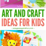 Easy Paper Craft Ideas For Kids Crafts For Kids Tons Of Art And Craft Ideas For Kids To Make