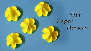 Easy Paper Craft Ideas For Kids Diy Paper Flowers Easy Paper Craft Ideas For Kids Little Crafties