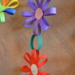 Easy Paper Craft Ideas For Kids Easy Paper Flower Garland Diy Teaching Ideas Pinterest Crafts