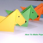 Easy Paper Craft Ideas For Kids Paper Dog Origami Dog Paper Crafts For Kids Easy Paper Craft