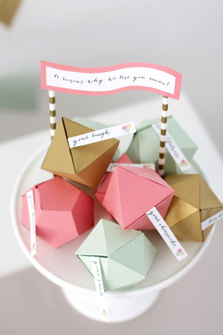 Handmade Paper Craft Gifts You can Make Right Now