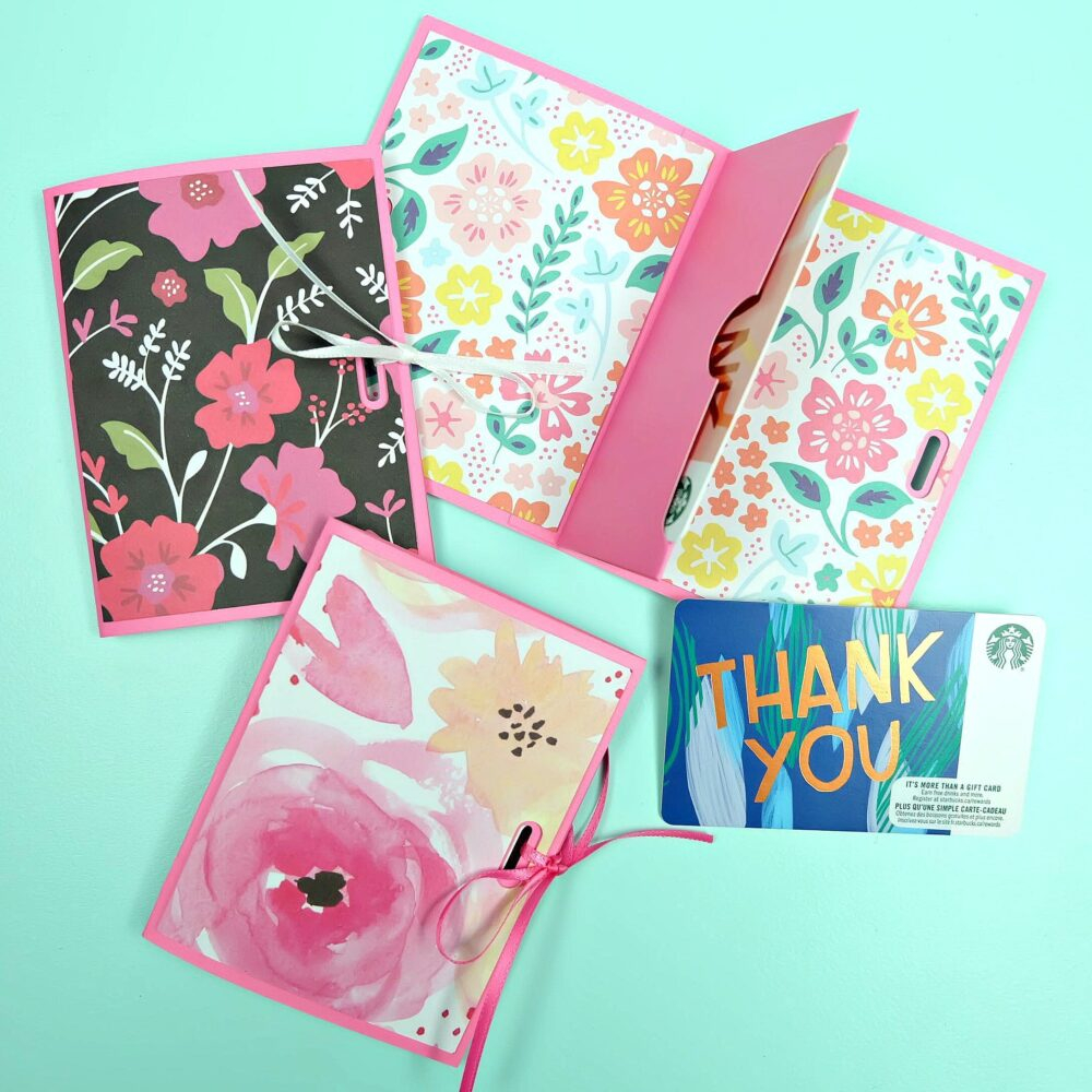 Handmade Paper Craft Gifts You can Make Right Now Easy Diy Gift Card Holders Made With The Cricut Hello Creative Family