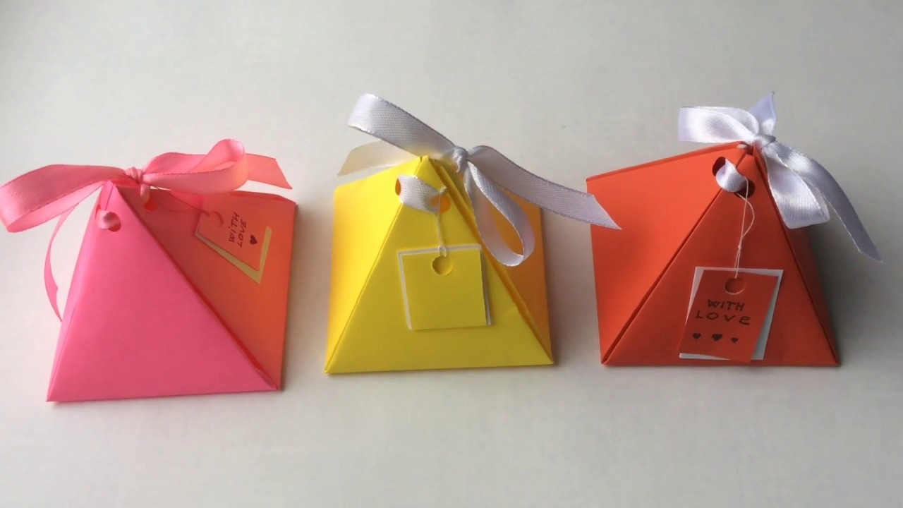 Handmade Paper Craft Gifts You can Make Right Now Gift Box Diy Origami Box Paper Craft