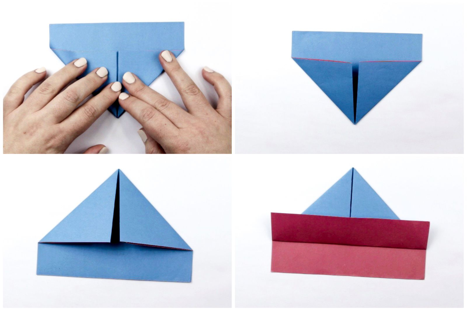 Home crafts you can make with paper How To Make An Easy Origami Boat