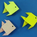 How To Make A Paper Crafts For Gifts How To Make A Paper Fish Easy Origami Fishes For Beginners Making