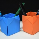 How To Make A Paper Crafts For Gifts Pyramid Papercraft How To Make Paper Box That Opens And Closes Paper