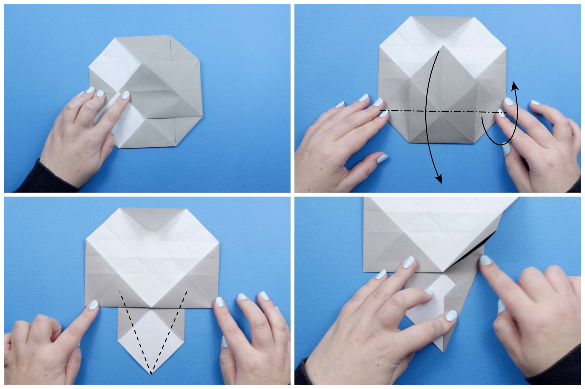 How to Make an Elephant Paper Craft Fun Crafts for Kids How To Make An Origami Elephant