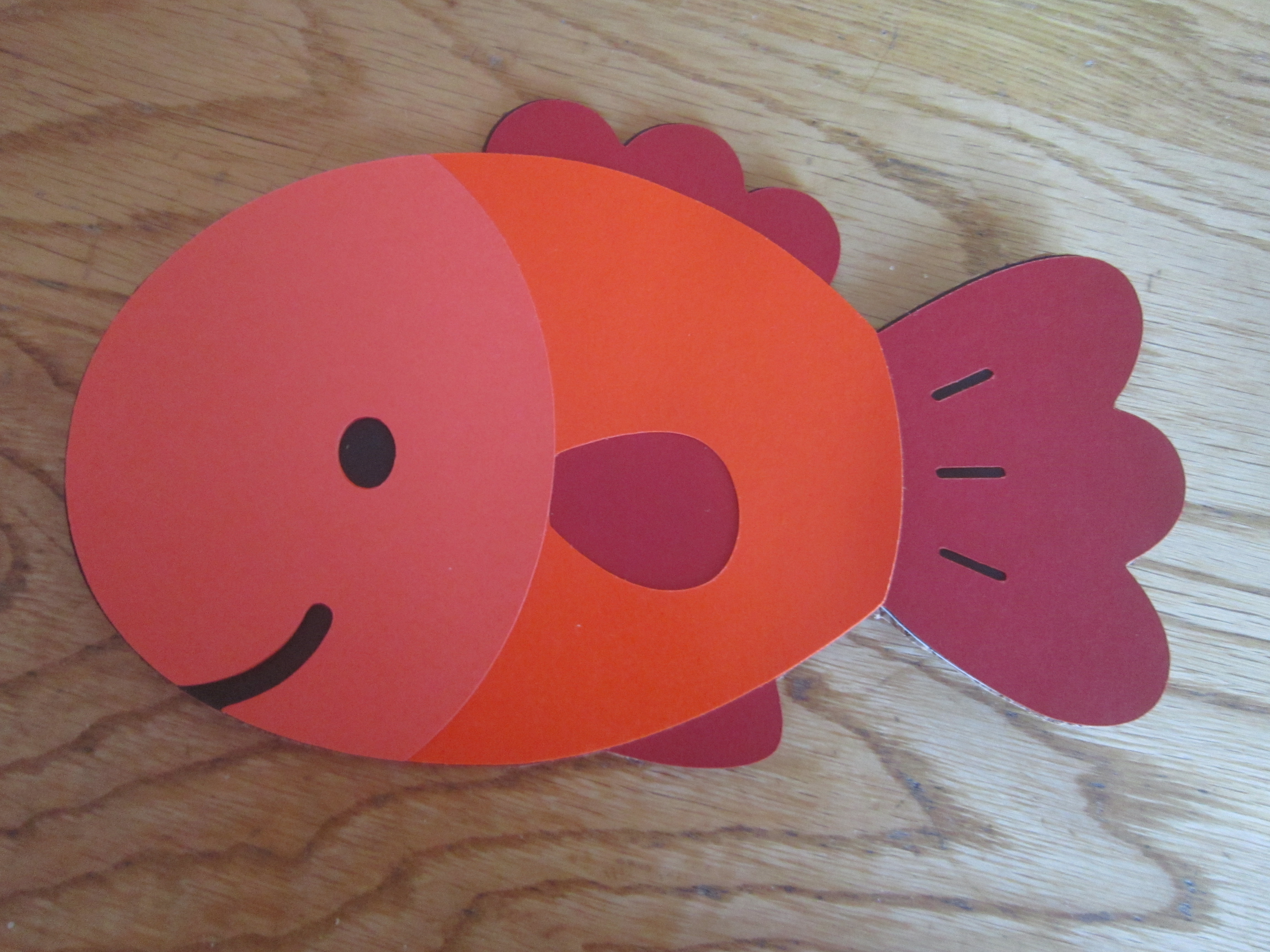 How to Make Paper Craft Fish for Kids Day 359 Its A Fish Inspired The Sea