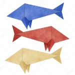How To Make Paper Craft Fish For Kids Origami Fish Recycled Paper Craft Stock Photo Kanate 11202839
