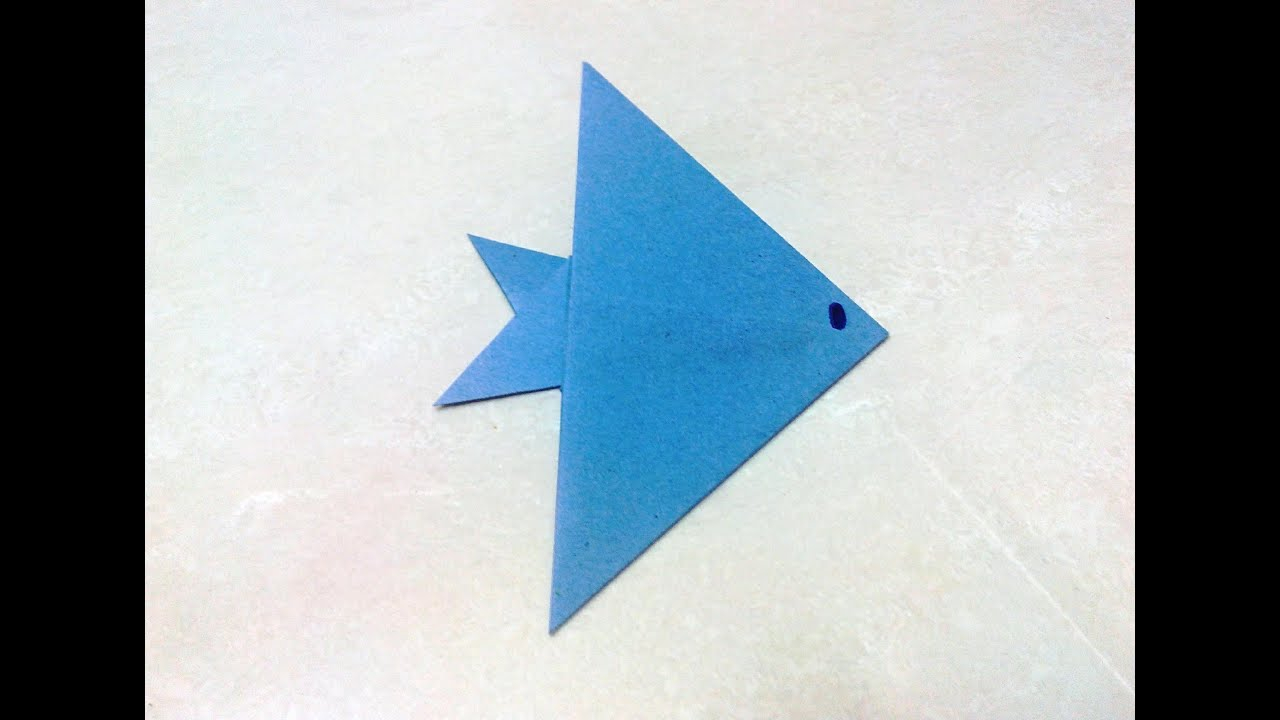 How to Make Paper Craft Fish for Kids Papercraft Papermeal 4 Fish Chips Papercraftsquare