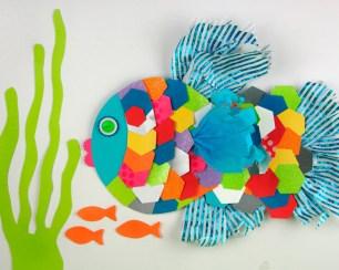 Kids Paper Crafts Animal Paper Crafts With Scraps