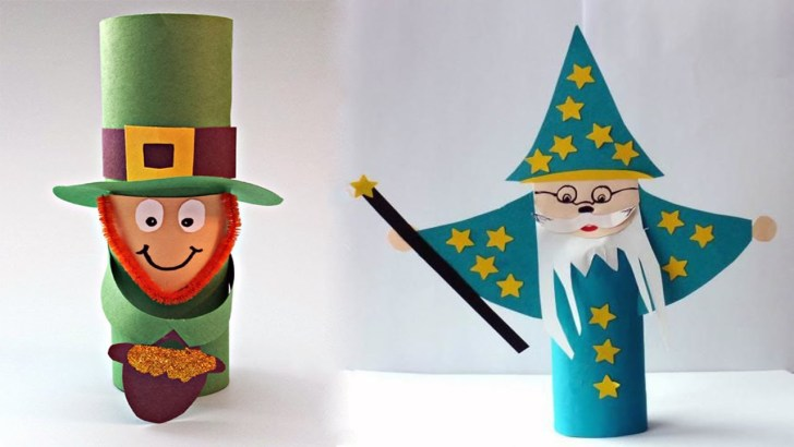 33+ Beautiful Image of Leprechaun Toilet Paper Roll Craft