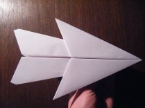 Paper Airplane Craft Cool Looking Paper Airplane 5 Steps