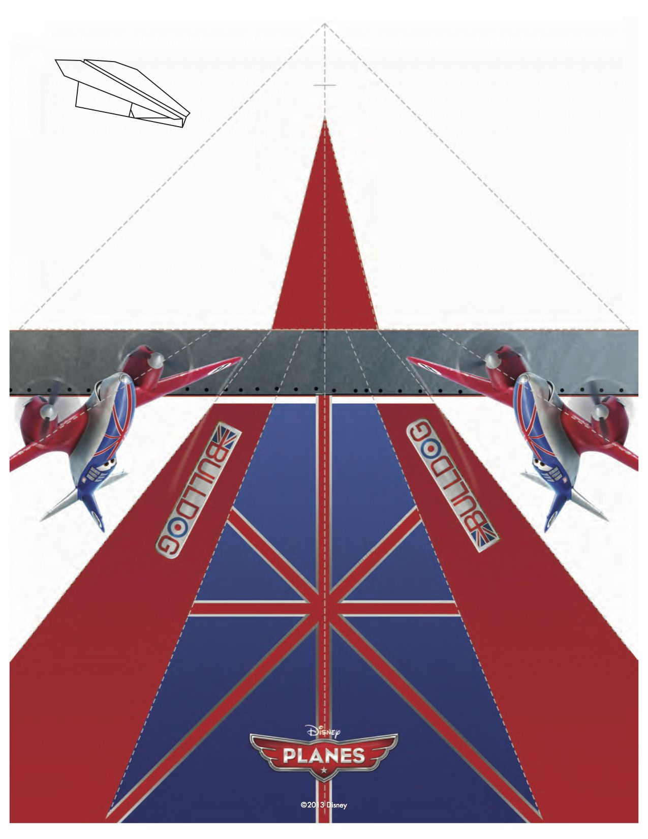 It is a picture of Printable Paper Airplane Template regarding eagle