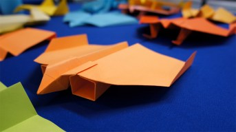 Paper Airplane Craft Interesting Facts Learned From John Collins The Paper Airplane Guy