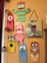 Paper Bag Craft Ideas Diy Yo Gabba Gabba Puppets Made From Brown Paper Lunch Bags Hand
