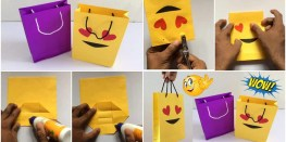 Paper Bag Craft Ideas How To Make Paper Bag Simple Craft Ideas