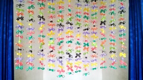 Paper Crafts For Wall Decor Amazing Craft Ideas With Paper Diy Simple Home Decor Using Paper