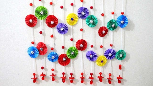 Paper Crafts For Wall Decor Paper Wall Hanging Ideas Paper Craft Ideas For Room Decoration