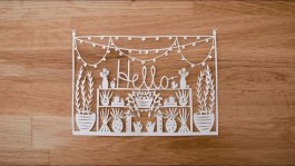 Paper Cutting Crafts Paper Cutting Introduction To Paper Cutting With Grace Hart Part