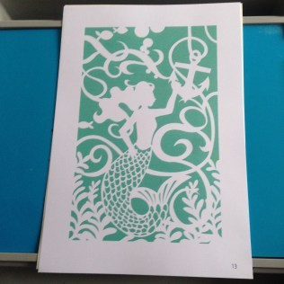 Paper Cutting Crafts The Summerhouse The Sea Something New Paper Cutting